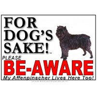 Affenpinscher BE-AWARE Dog Safety Sgn 1