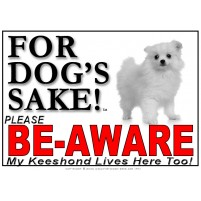 Keeshond BE-AWARE Dog Safety Sgn 2